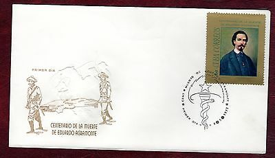 CARIBBEAN STAMPS- Death Centenary of E.Agramonte (surgeon), FDC, 1972