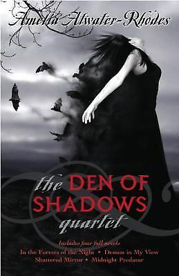 Fantasy Fiction Complete Den of Shadows quartet series Atwater-Rhodes 4in1 book