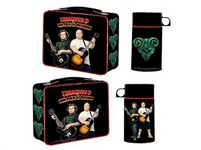 NECA TENACIOUS D Pick of Destiny METAL LUNCHBOX W/ Thermos Drink Container Tin