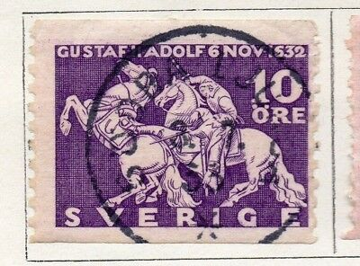 Sweden 1932 Early Issue Fine Used 10ore. 127606
