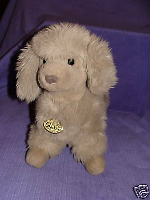 "Gund French Poodle Vintage 1988 15"" Long Gund Tag ~ Az3"