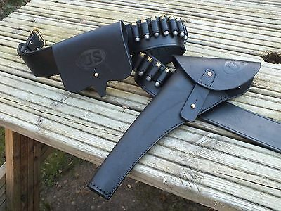 US Cavalry Flap Holster and Ammo Pouch, Civil War copies, For Colt Army/Navy.