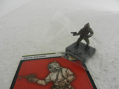 Nikto Soldier Star Wars Miniature 50/60 Fringe 5 With Card