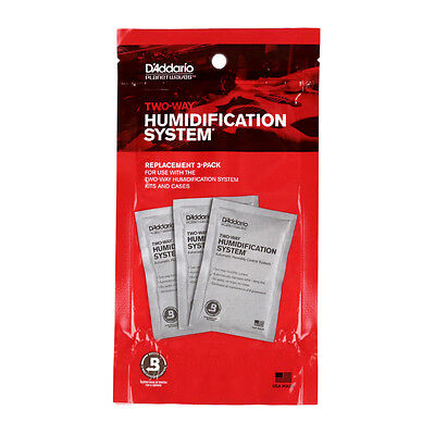 Planet Waves Replacement 3 Pack for Two-Way Guitar Humidification System
