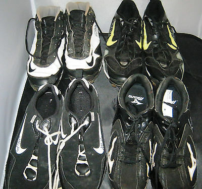 4 pair of autographed Cleats