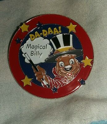 Butlins Large Billy Bear Magic Magical Billy Pin Badge Excellent Condition