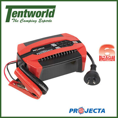 Projecta Campsite Power Pro-Charge Automatic 12 Volt 6 Stage Battery Charger 4A