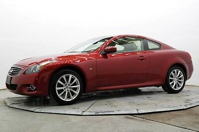 2014 Infiniti Q60 AWD AWD CPE Auto Nav R Camera Lthr Htd Seats Pwr Moonroof Bose 39K Must See Save