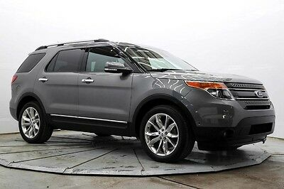 2014 Ford Explorer Limited 4WD Limited 4X4 Pwr 3rd Row Nav Htd & AC Seats Sync Sunroof BLIS Park Assist Save