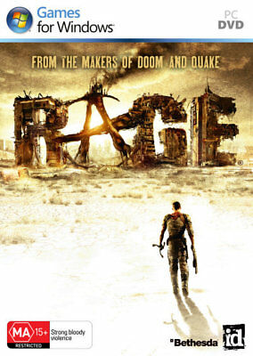 RAGE - from the makers of Doom & Quake - id Software Bethesda PC  New!
