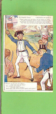 #d. 1905  Postcard - English  Sailor Songs