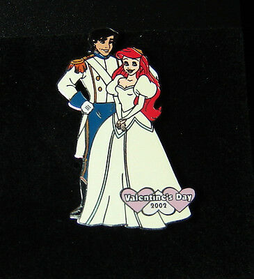 Ariel and Eric Wedding Little Mermaid Disney Auctions Pin LE 100 OC RARE