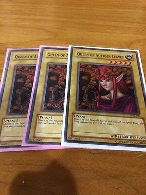 Yugioh Queen Of Autumn Leaves TP2-024 Very Rare 1x Nm/m