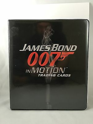 James Bond In Motion Master Set Autographs Props Relics Case Toppers Inserts+