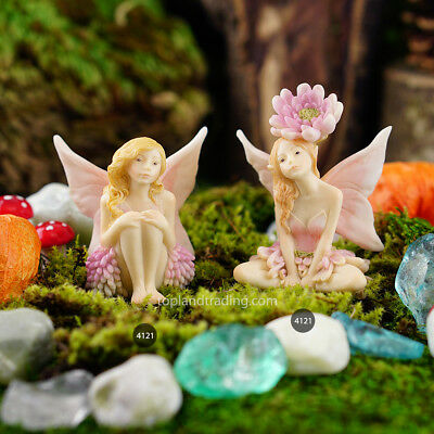 Miniature Dollhouse Fairy Garden Flower Fairies Figurines