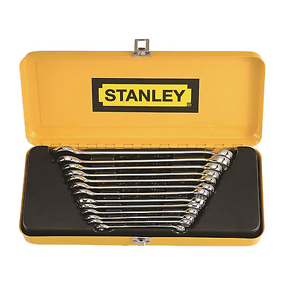 New Stanley Metric Spanner Set 13 Piece in durable metal case