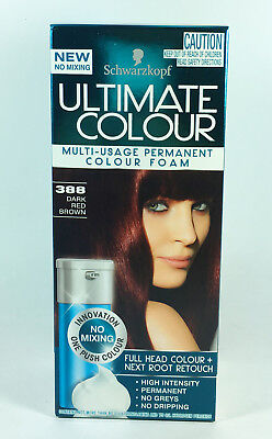Schwarzkopf Ultimate Colour 388 Dark Red Brown x1 Schwarzkoph