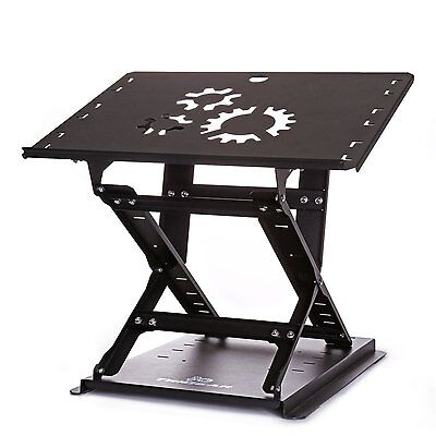 TriGear Premier 81 Adjustable Height & Angle Options Laptop Desk Stand w/ Over -