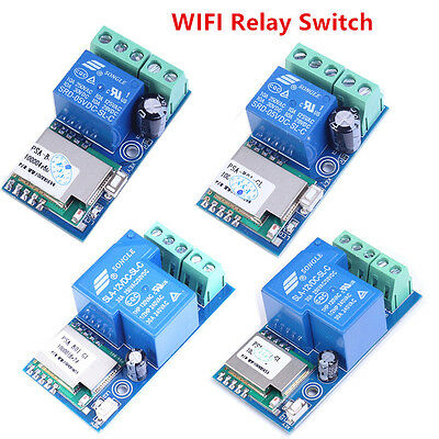 WIFI Relay Switch Module Phone Remote Control Electrical Modification Smart Home