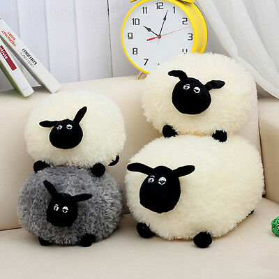 Lovely Soft Stuffed Sheep Plush Pillow Sofa Home Cushion Kid Baby Toys GIFT UK