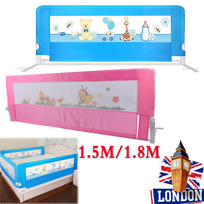 Child Toddler Safety Guard infant Bed Rail Protection Folding Bedrail 4 Color UK