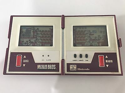 Vintage Game And Watch Mario Bros