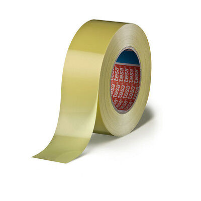 Tesa-Strapping Klebeband 4289, 25mm(66 Meter) Tubless Yellow-Tape, Felgenband