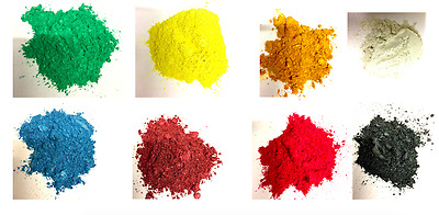 8 colour Metallic pigments for epoxy resin, 25g each create most colours