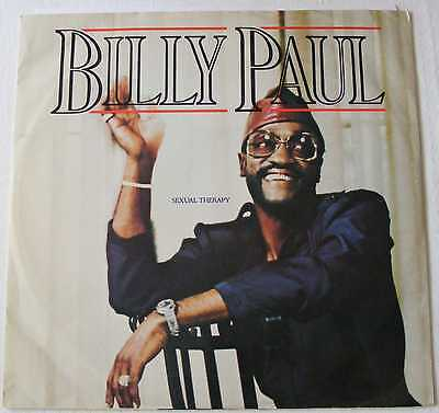 """BILLY PAUL UK 1985 12"""" Single SEXUAL THERAPY"""