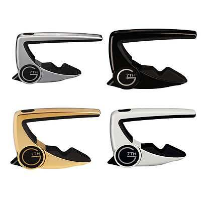 G7th Performance 2 Steel String Capo (Available in all Colours)