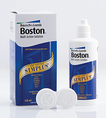 Bausch & Lomb Boston Simplus Multi Action Solution For Rgp Lenses 120ml