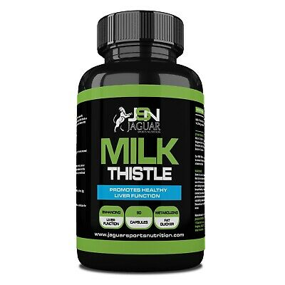 Milk Thistle *120 Capsules* *incredibly Powerful Liver Detox Jsn*