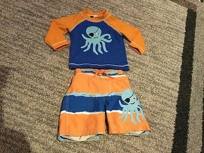 Baby boy Gymboree swim suit size 12-18months