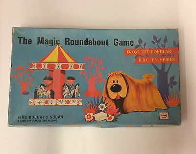Vintage Magic Roundabout Game 1967 Triang ' Find Dougals's Sugar '