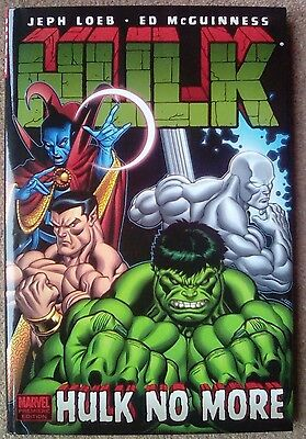 Hulk Volume 3: Hulk No More HC - Jeph Loeb and Ed McGuinness