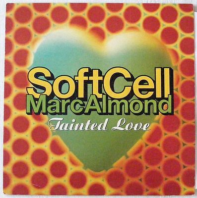 "SOFT CELL Marc Almond UK1991 REMIX 12"" Single TAINTED LOVE includes ORIG Version"
