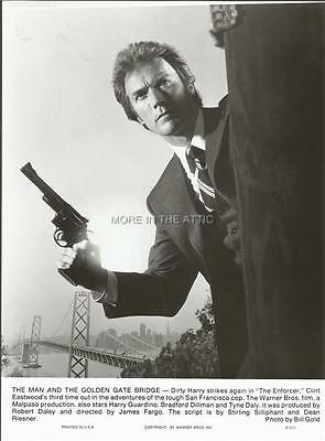 Clint Eastwood Strikes A Pose As Dirty Harry Original Enforcer Film Still