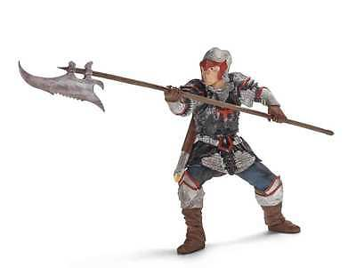 Schleich --Dragon Knight with Pole-Arm --Hard Plastic Toy Figure