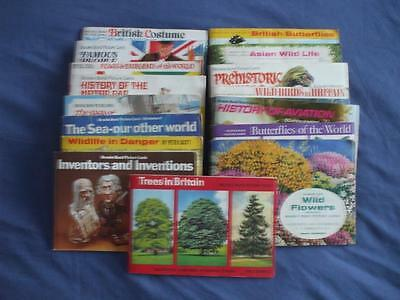 Brooke Bond Tea Card Albums:complete Set Of Cards In Album:buy Individually