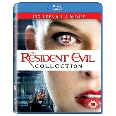 Resident Evil Collection 1-4 Blu-ray - Neuf