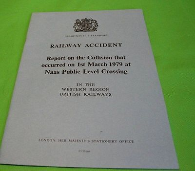 Railway Accident Report Collision Naas Level Crossing March 1979