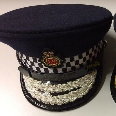 High Quality Mini Police Cap Greater Manchester Chief Constable 2/3rd scale RARE