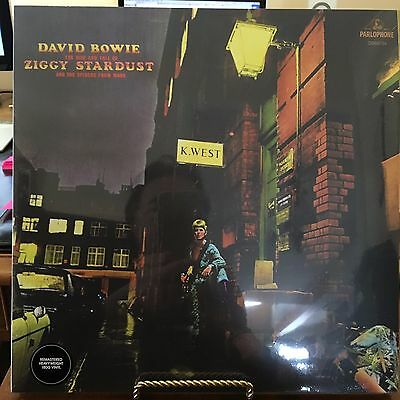 David Bowie Ziggy Stardust Uk Pressed In Germany Vinyl Lp Parlophone
