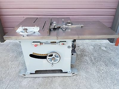 "Professional Tannewitz Xj Table Saw Woodworking 14"" - 16"" Blade 7.5 Hp"