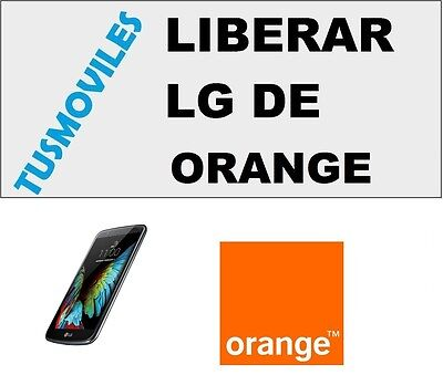 Liberar LG orange Optimus 3D Optumus 7 Optimus F6 Optimus L3 L3 II G2 G2 mini L9