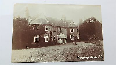 Early Real Photo Postcard Kingsley House