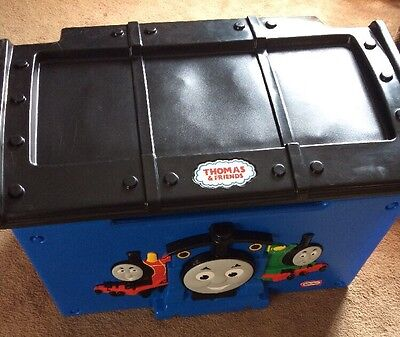 Rare Thomas The Train Little Tikes Toy Box with Play Top discontinued