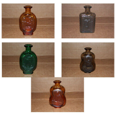 DAR Daughters Of The American Revolution  Glass Bottle D.A.R. 1979