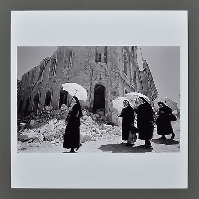 Leonard Freed Magnum Archival Square Photo Print 15x15 Sicily Italy Signed B&W