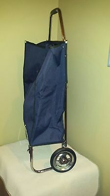 Folding Shopping Utility Cart Portable Mobile Rolling Grocery Cart